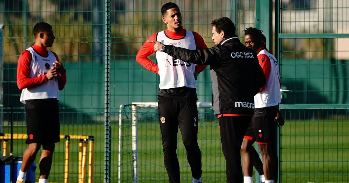 William Saliba Nice, on loan from Arsenal January 2021