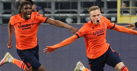Clinton Mata, Noa Lang, Club Brugge celeb