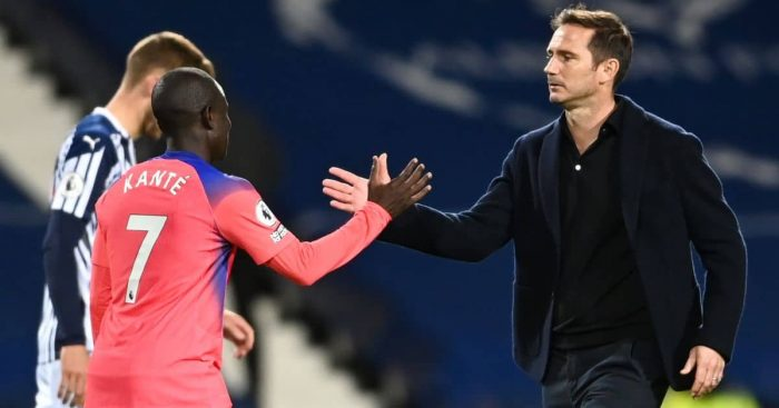 N'Golo Kante; Frank Lampard Chelsea TEAMtalk