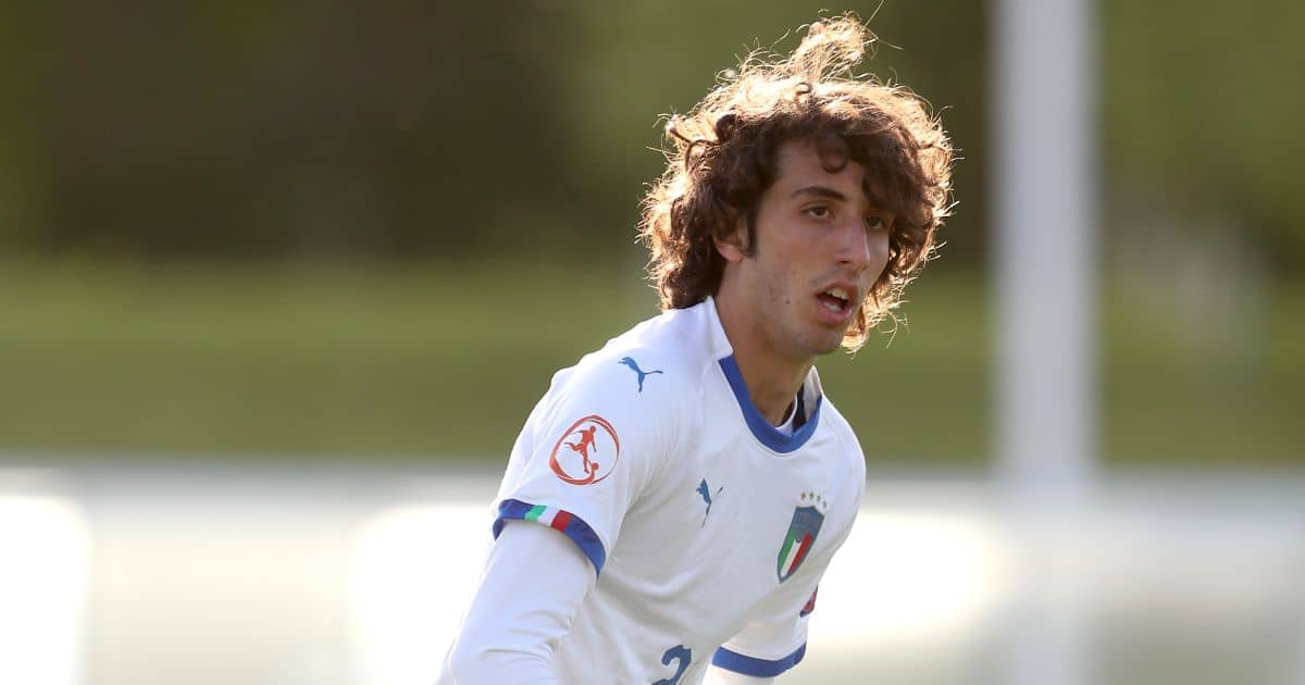 Alessandro Cortinovis Atalanta, Italy Under-17s May 2018