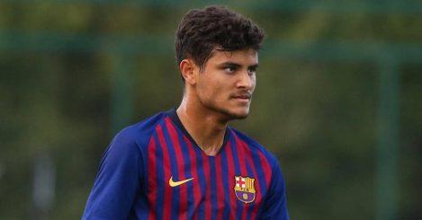Lucas De Vega Barcelona UEFA Youth League TEAMtalk
