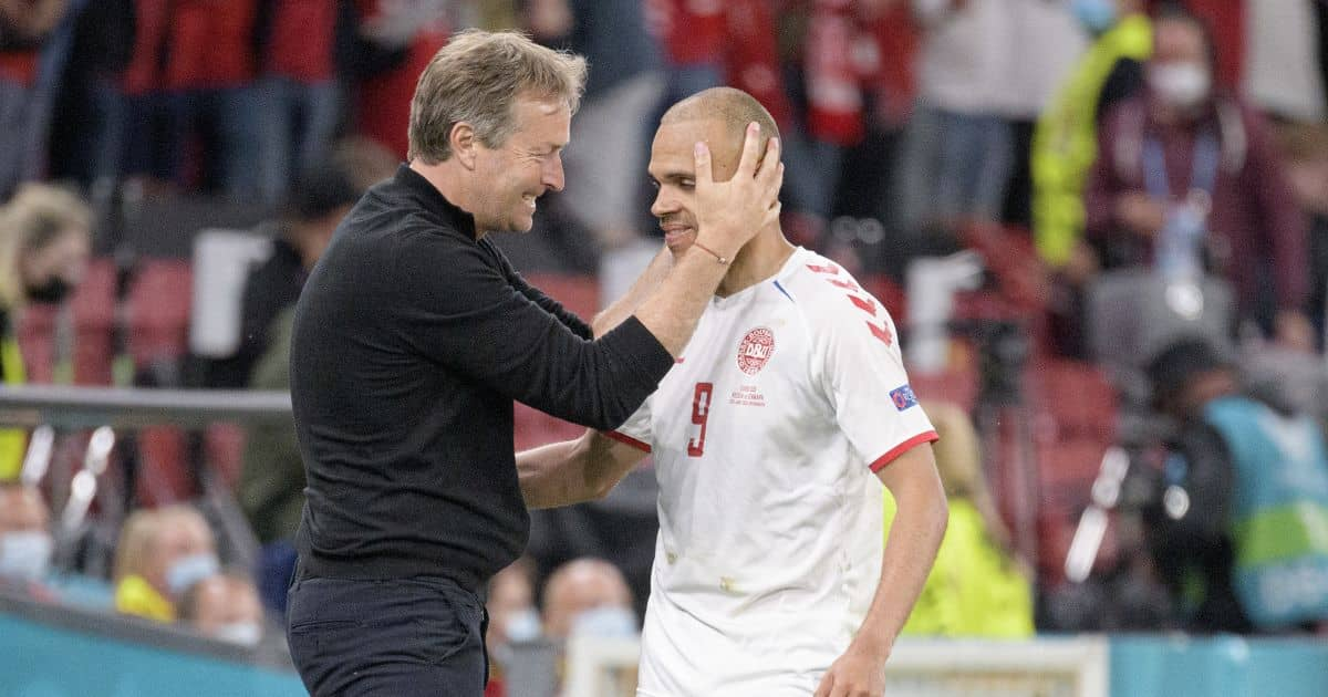 Martin Braithwaite Barcelona, Russia v Denmark Euro 2020