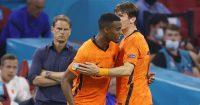 Ryan Gravenberch, Marten de Roon Holland, Euro 2020