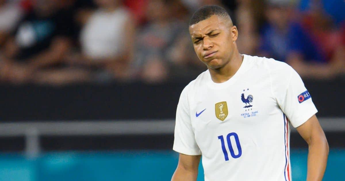 Kylian Mbappe France v Hungary June 2021 TEAMtalk