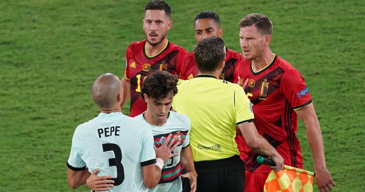 Joao Felix Portugal v Belgium Euro 2020 TEAMtalk