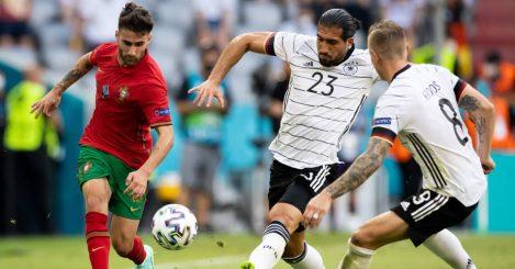 Rafa Silva Emre Can Toni Kross, Portugal v Germany, Euro 2020