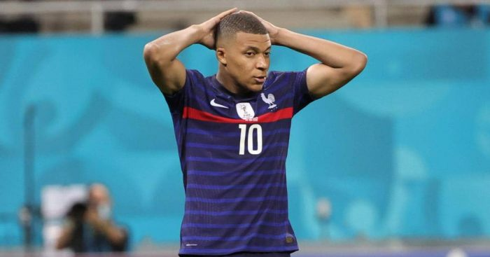 Kylian Mbappe France Euro 2020 exit TEAMtalk