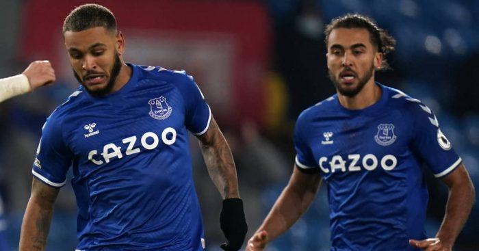 Joshua King and Dominic Calvert-Lewin, Everton