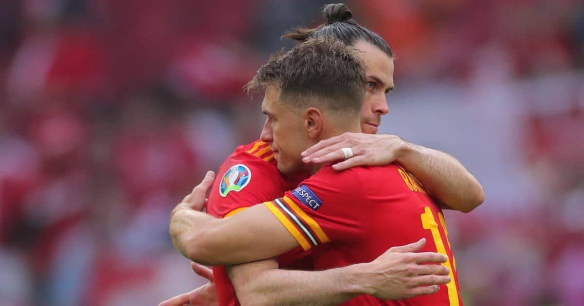 Gareth Bale Aaron Ramsey Wales Euro 2020
