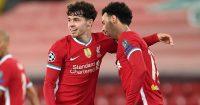 Neco Williams, Curtis Jones Liverpool academy stars