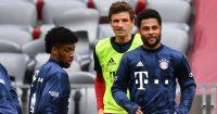 Kingsley Coman, Serge Gnabry, Thomas Muller, Bayern Munich