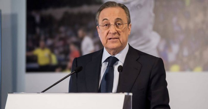 Florentino Perez Real Madrid president April 2021