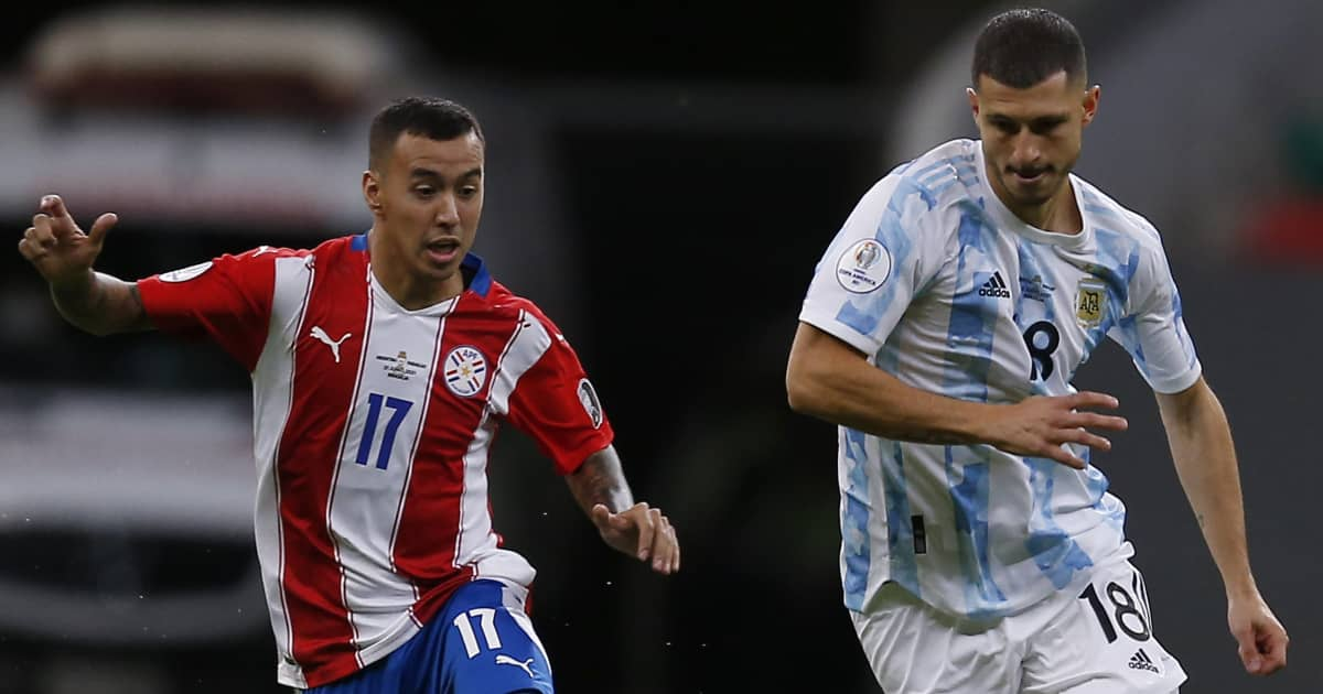 Guido Rodriguez, Argentina v Paraguay, Copa America 2021