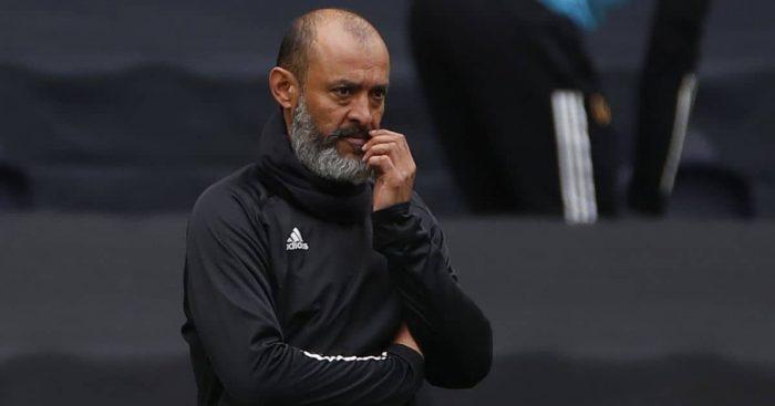 Nuno Espirito Santo Tottenham v Wolves May 2021