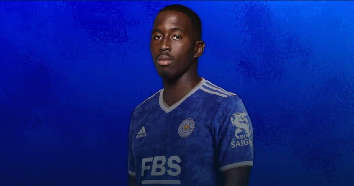 Boubakary Soumare pic via Leicester City TEAMtalk