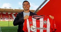 Romain Perraud (pic via Southampton FC)