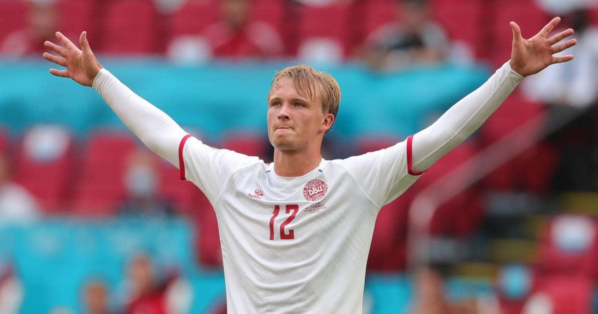 Kasper Dolberg Euro 2020 TEAMtalk