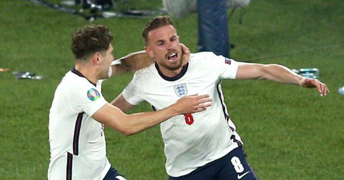 Jordan Henderson first England goal TEAMtalk