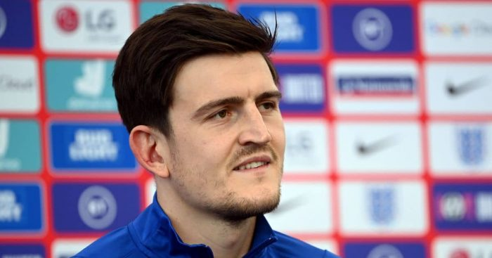 Harry Maguire England press-conference July 2021 TEAMtalk