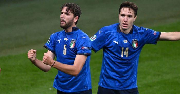 Manuel Locatelli Federico Chiesa Italy Euro 2020 TEAMtalk