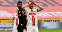 Edmond Tapsoba, Jonas Hector Bayer Leverkusen v Cologne April 2021