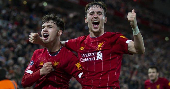 Neco Williams, Liam Millar, Liverpool FC celeb