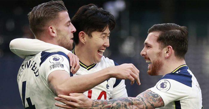 Toby Alderweireld Heung Min Son Pierre Hojbjerg Tottenham TEAMtalk