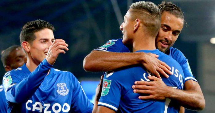 James Rodriguez Richarlison Dominic Calvert-Lewin Everton TEAMtalk