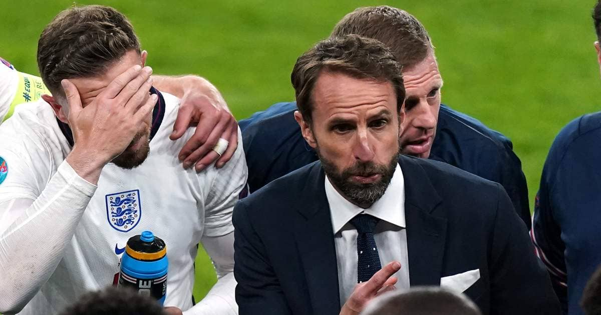 Gareth Southgate England Euro 2020 semi final TEAMtalk