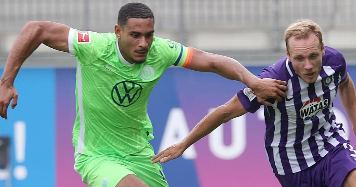 Maxence Lacroix Wolfsburg defender and Tottenham target TEAMtalk