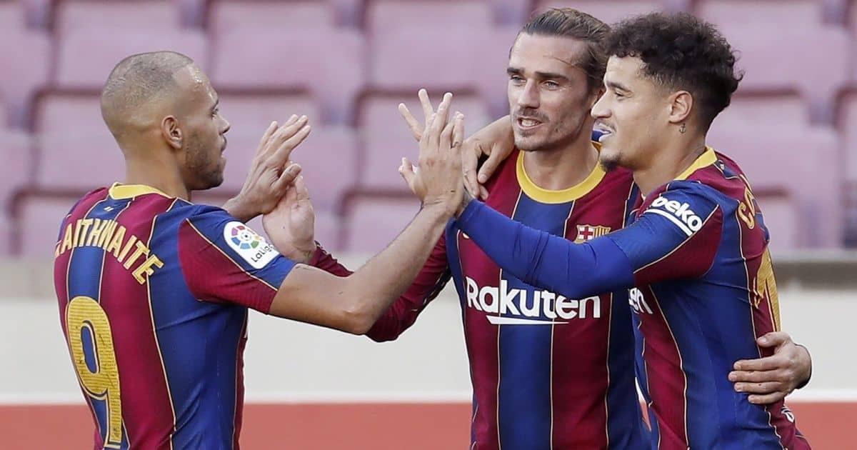 Doubts remain as Barcelona 'accept' West Ham striker bid
