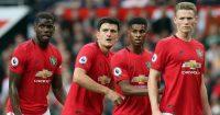 Paul Pogba, Harry Maguire, Marcus Rashford, Scott McTominay, Man Utd