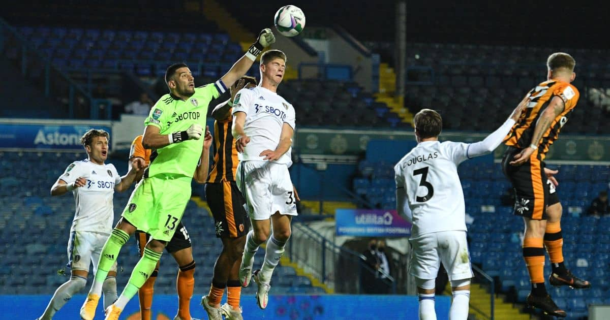 Kiko Casilla Leeds v Hull September 2020