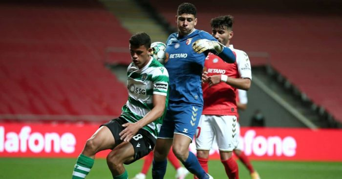 Matheus Nunes, Braga v Sporting April 2021