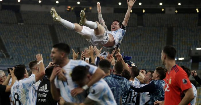 Lionel Messi Argentina Copa America final TEAMtalk