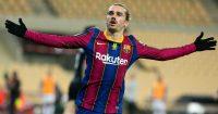 Antoine Griezzman, Barcelona celebration