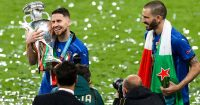 Jorginho Leonardo Bonucci Italy Euro 2020 winner TEAMtalk