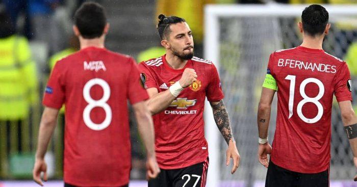 Alex Telles Man Utd penalty shootout TEAMtalk