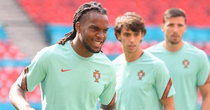Renato Sanches, Joao Felix, Portugal training,