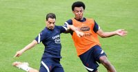 Wissam Ben Yedder Jules Kounde France training June 2021 TEAMtalk