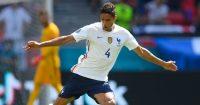 Raphael Varane Hungary v France Euro 2020
