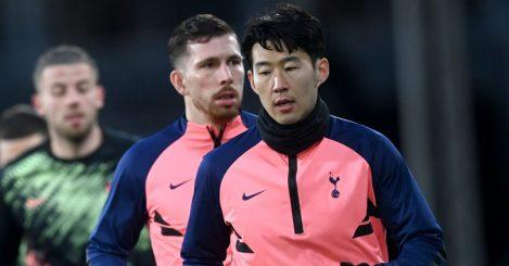 Pierre-Emile Hojbjerg, Heung-min Son, Tottenham warm-up