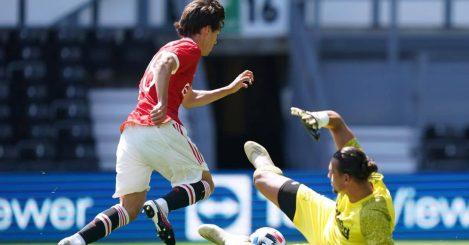 Facundo Pellistri Man Utd v Derby winner TEAMtalk