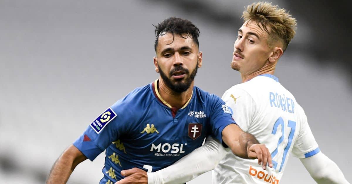 Farid Boulaya, Metz away at Marseille