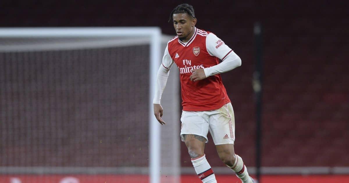 Reiss Nelson Arsenal Under-23s v Man City Under-23s February 2020