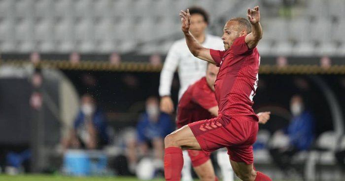 Martin Braithwaite Barcelona, Denmark v Germany June 2021