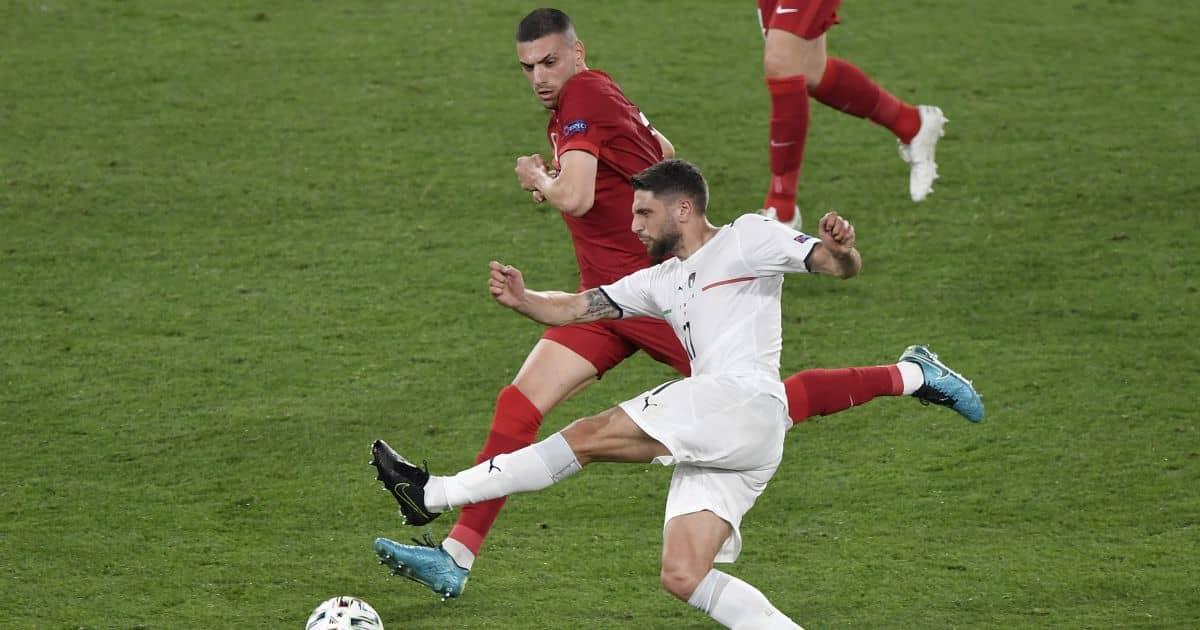 Domenico Berardi, Sassuolo, Turkey v Italy Euro 2020