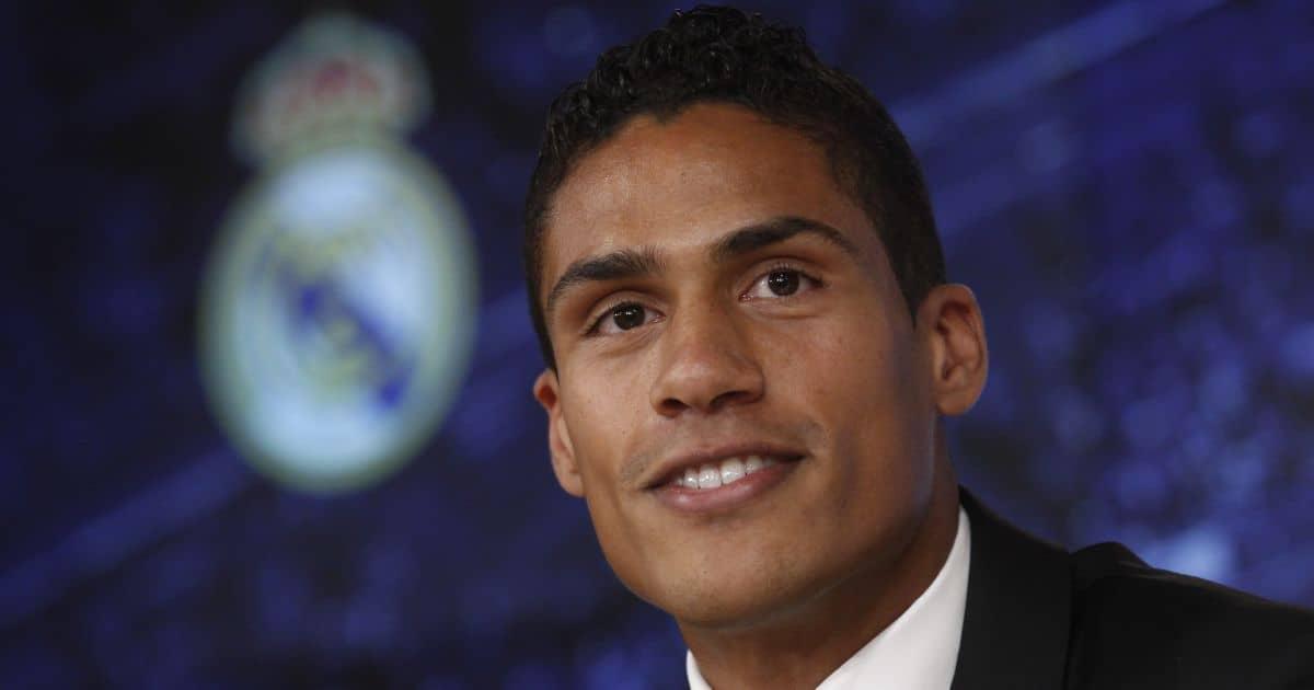 Raphael Varane, Real Madrid press