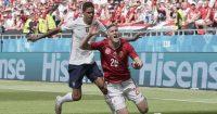 Raphael. Varane, Roland Sallai Hungary v France Euro 2020