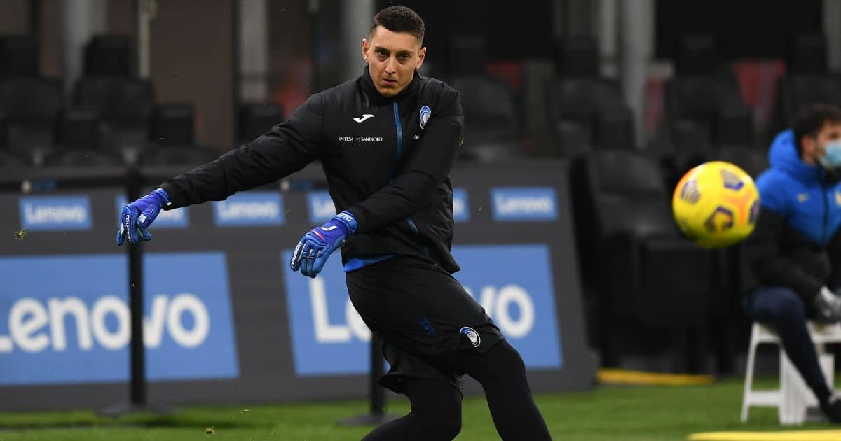 Pierluigi Gollini Inter v Atalanta March 2021